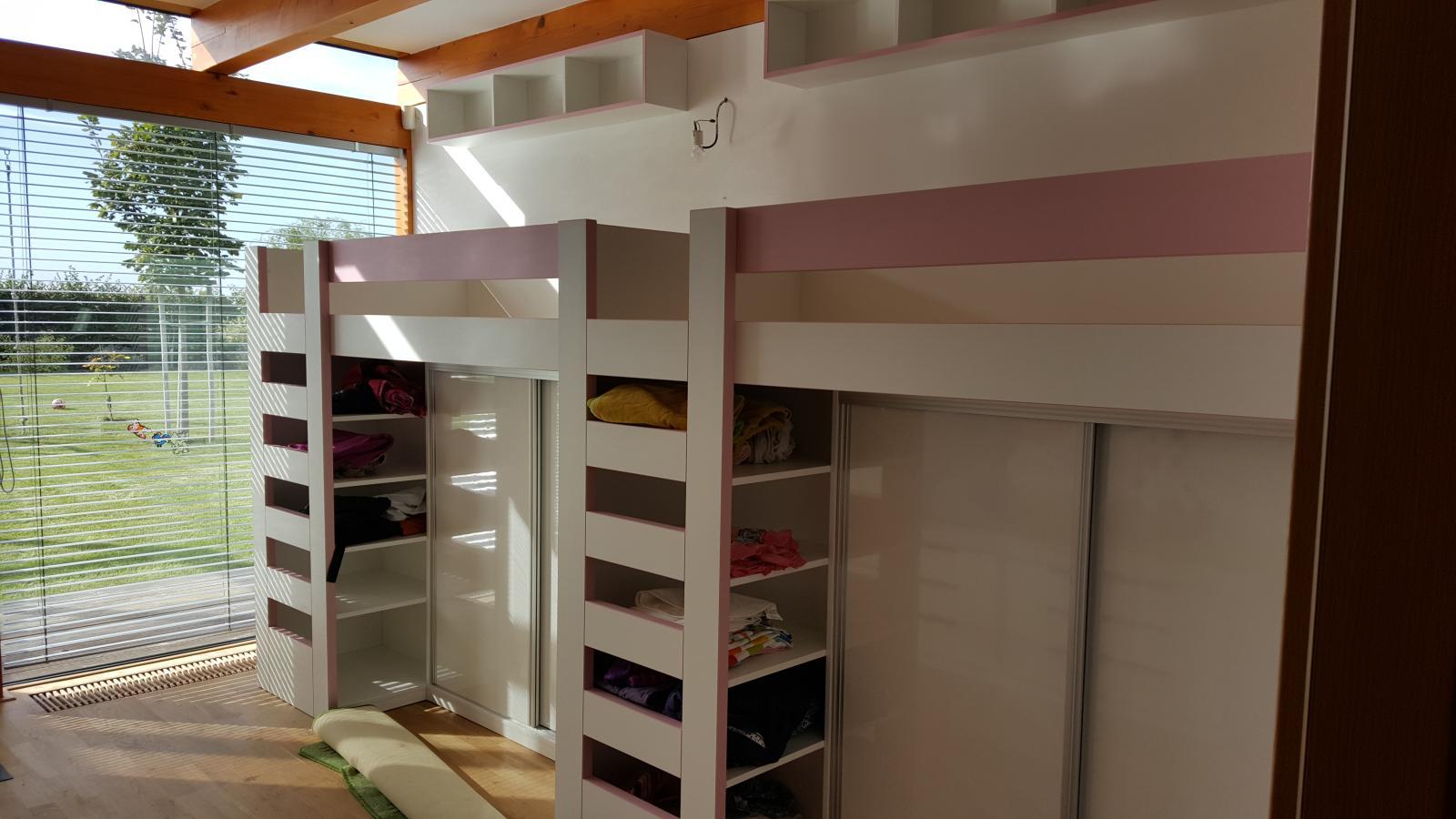 Dětský pokoj na zakázku
